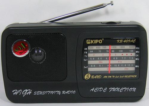 KIPO KB-409АС (AC&DC) сетев./2R20