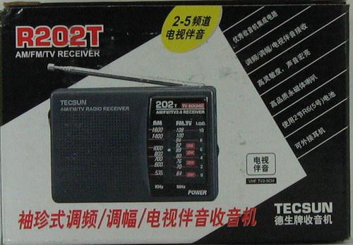 TECSUN R-202 T 2-band