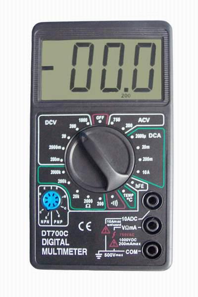 Цифровой Мультиметр DT-700C (больш. экр.)