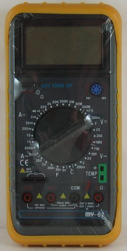 Цифровой Мультиметр MY 62 ( с описанием.)