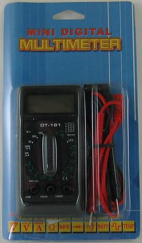 Цифровой Мультиметр DT-181 ( с описанием.)