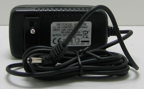 Блок питания для в/кам. (1,2A, 12V) FC-1200 толст. шт. (5,5*2,5)
