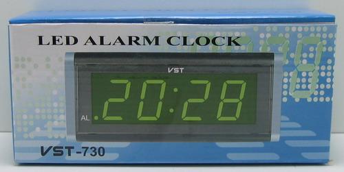 Часы-буд. электронные VST-730-5 (син. циф.)