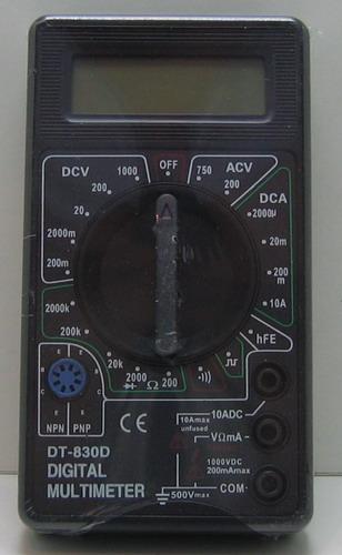 Цифровой Мультиметр DT-830D (как DT-832)