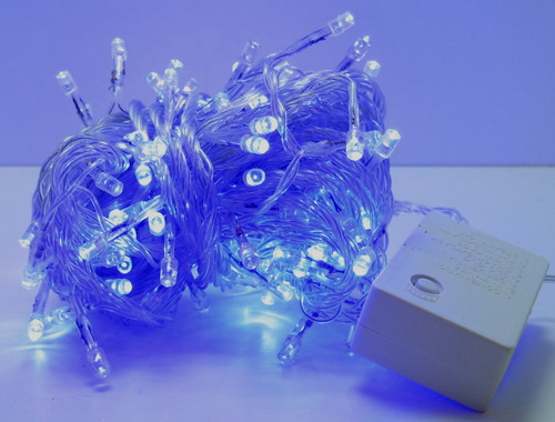 Гирлянда 160 светод. (6 мм) разноцв. прозрачн. NEW