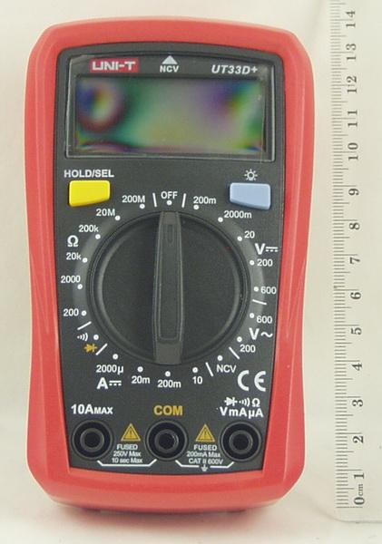 Мультиметр UNI-T UT-33D (в калоше)