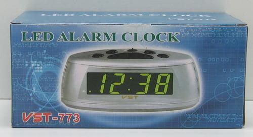 Часы-буд. электронные VST-773-5 (син. циф.)