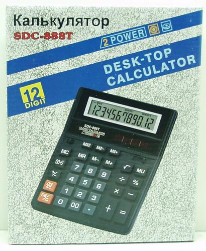 Калькулятор 888T (SDC-888T) 12 разр.