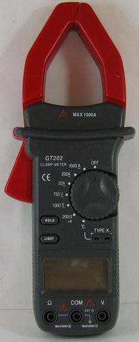 Клещи токоизмерительные GT-202 (чехол)