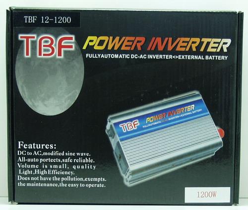 Преобразователь напряжения TBF 1200 W 12V-220V