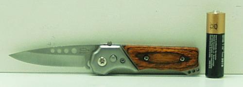Нож 253 (A253) мал. выкид. дер. ручка