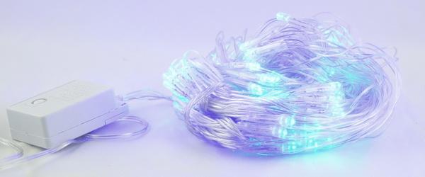 Гирлянда 160 светодиод. (сетка) голуб. 1,8м*1,8м