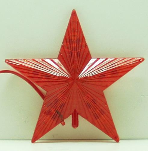 Звезда на макушку сред. красн. W2-1