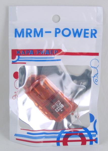 Переходник Micro SD-USB в пакете