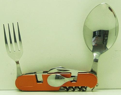 Инстр.  A109AL тур.набор (вил.,лож., ножи, штоп.)