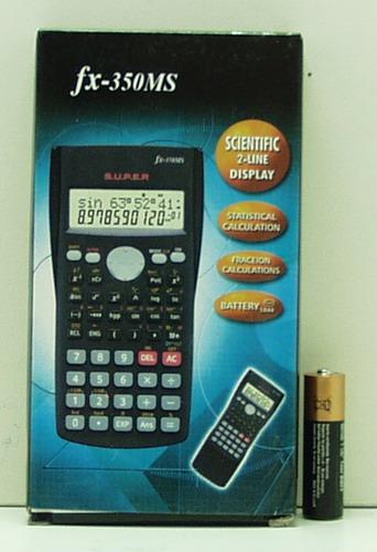 Калькулятор инженерн. fx-350MS (10-разр.)