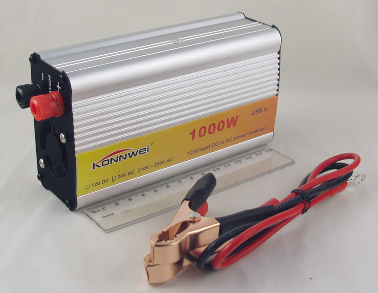 Преобразователь напряжения 24V-220V 1000W деш.