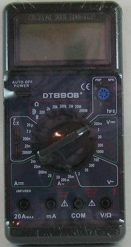 Цифровой Мультиметр M-890 B+ (с описанием.)