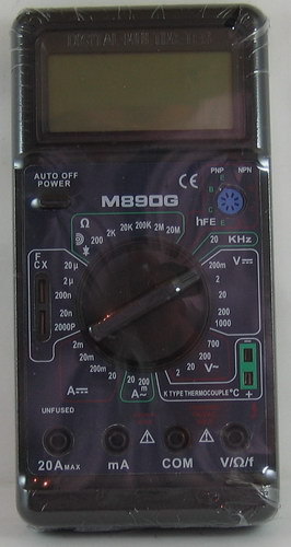 Цифровой Мультиметр M-890 C (с описанием)