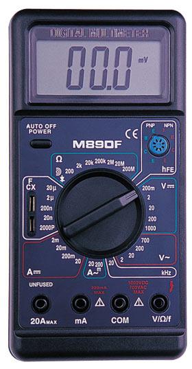 Цифровой Мультиметр M-890 F (с описанием.)
