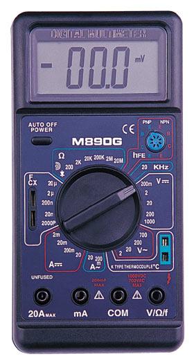 Цифровой Мультиметр M-890 G (с описанием.)