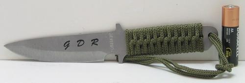 Нож А 3 мал. (зел. плетен. чехол)