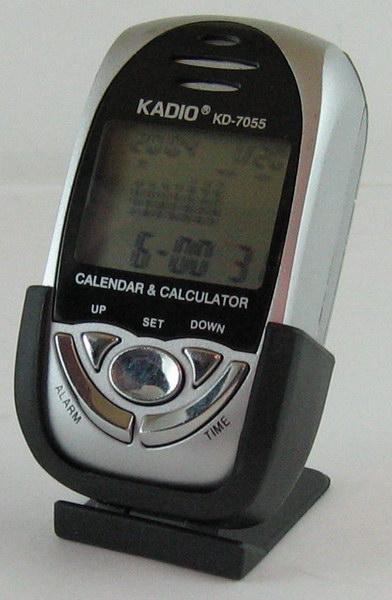 Часы на подставке KADIO KD-7055