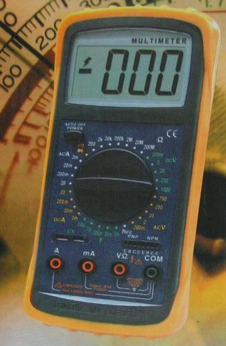 Цифровой Мультиметр DT-5808 (част.,темп.)
