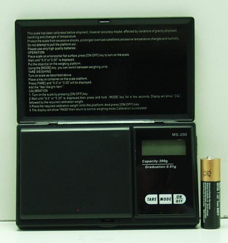 Весы ювелирные 200г / 0,01г MH016-200