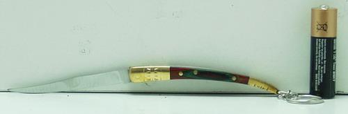 Нож 8003 мал. тонк., раскл., дер. ручка