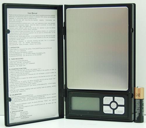Весы ювелирные 2000г / 0,1г SF-820 (1108)