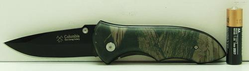 Нож 408 (KA408) в чехле расклад. СOLUMBIA