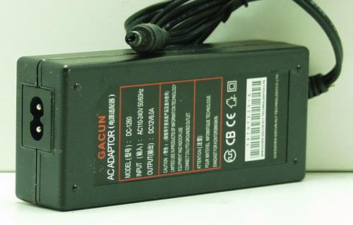 Блок питания для в/кам., DVD (6A 12V) №12-600 толст. шт. (5,5*2,5)