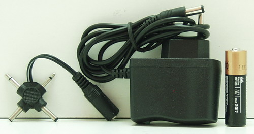 Блок питания (6V 1A) HDL-0601 толст. штек. (5,5*2,5)+ перех.