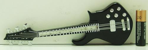 Зажигалка  №338 (34-09) (гитара) мигающ.