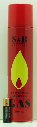 Газ для зажиг. (300 ml) S&B