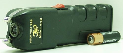 Электрошокер с фонариком №928