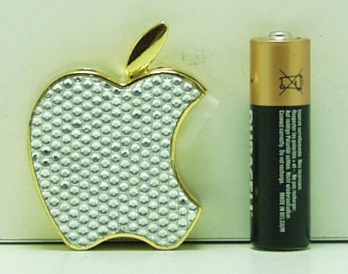 Зажигалка  №35-128 (яблоко)