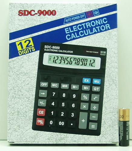 Калькулятор 9000 (SDC-9000) 12 разр. больш. сер.