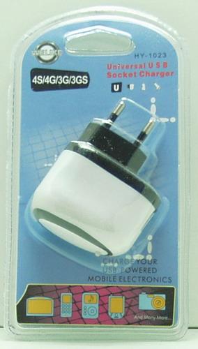 Блок питания для MP3 (USB) 5V 1A бел. блист. №1023A
