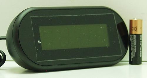 Часы-буд. электронные VST-712-1 (крас. циф.)