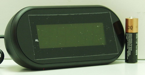 Часы-буд. электронные VST-712-5 (син. циф.)