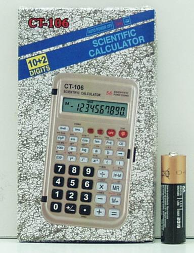 Калькулятор CT-106 многоф. (10+2 разр.)
