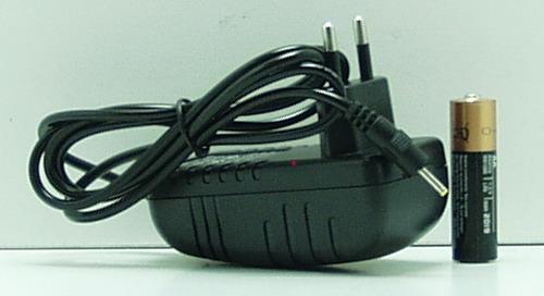Блок питания (12V 2A) для планшета №12-2E тонк. желт. штекер с индикат.