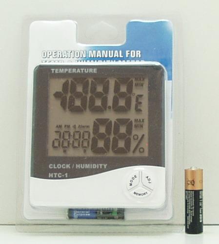 Термом.+ гигрометр цифровой HTC-1
