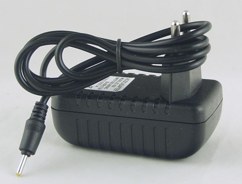 Блок питания (5V 2A) для планшета №5V-2,5 тонк. желт. штекер
