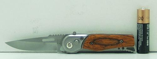 Нож 216 (A216) мал. выкид., дер. ручка