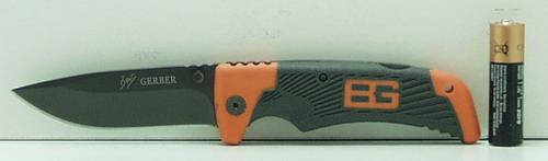 Нож 114 сред., раскладн. в чехле GERBER