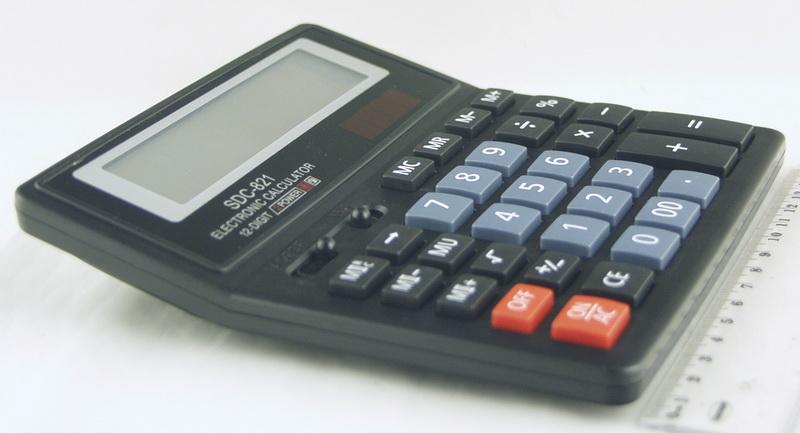 Калькулятор 821 (SDC-821) (12 разр.)
