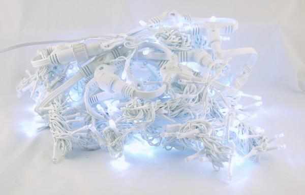 Гирлянда 480 светодиод. (шторы) белые уличн.